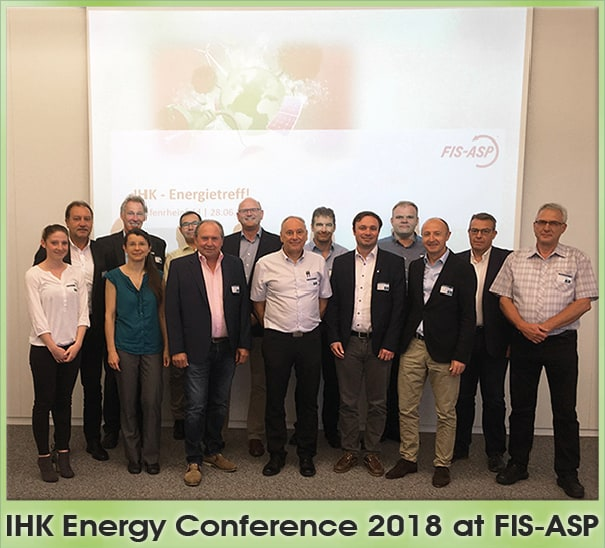 IHK ENERGY CONFERENCE AS GUEST AT FIS-ASP