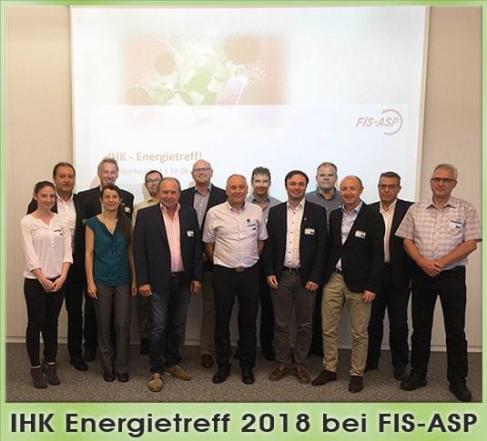 IHK Energietreff zu Gast bei FIS-ASP