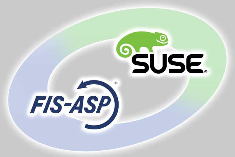 SUSE LINUX for video shoot at FIS-ASP in Grafenrheinfeld