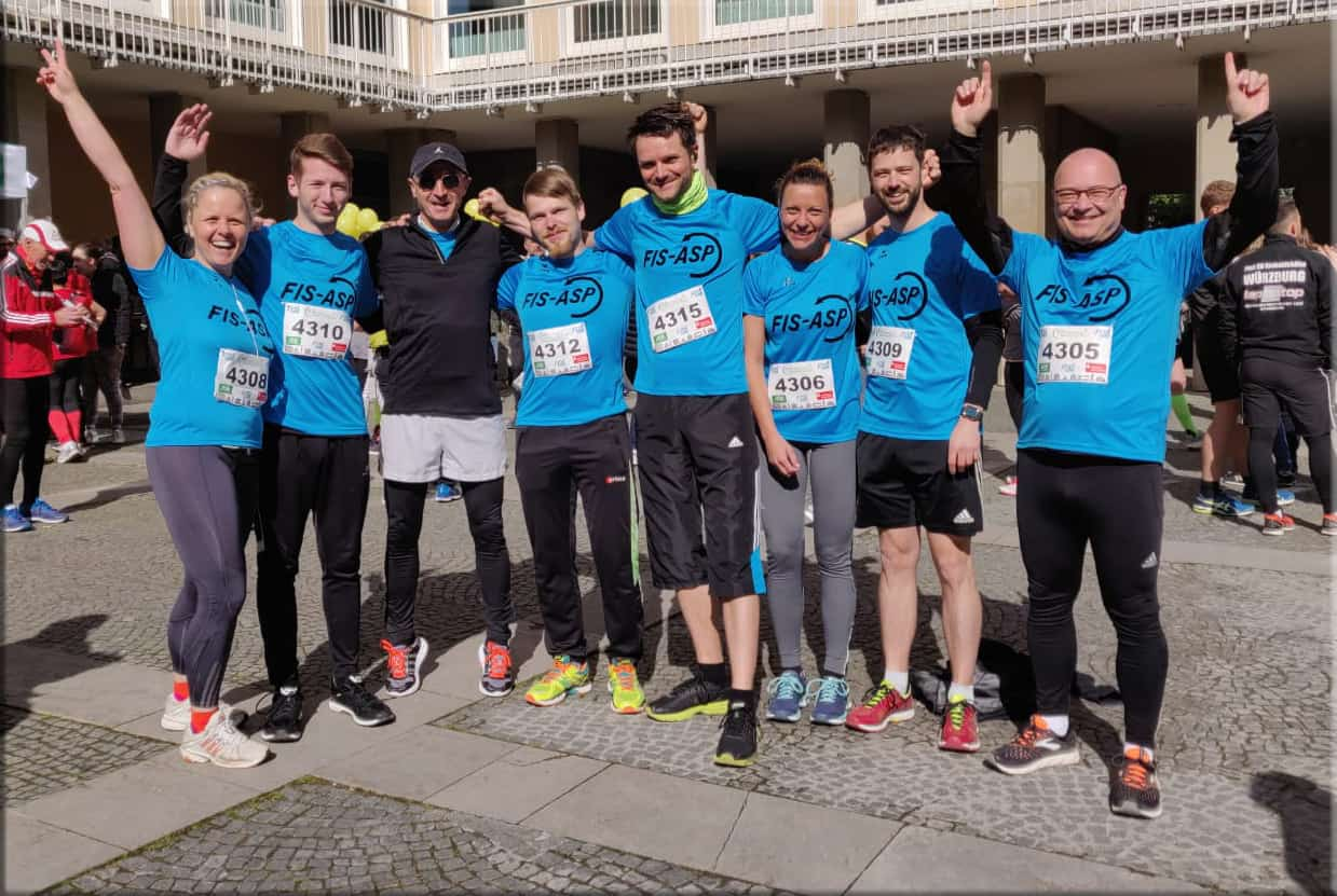 Again Quick and Successful FIS GmbH and FIS-ASP GmbH Athletes at the 2019 MainCityRun in Schweinfurt